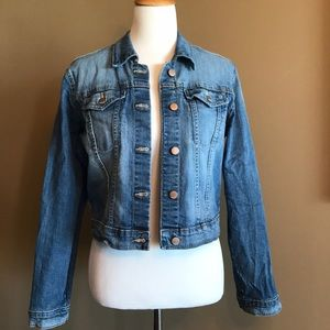 Women's gap denim jacket size L